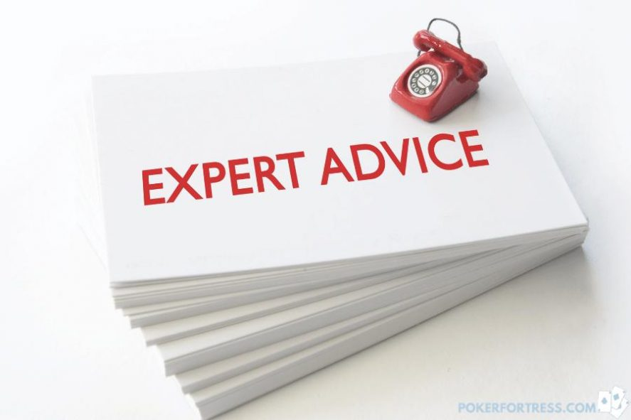 Expert advice on moving from live to online poker.