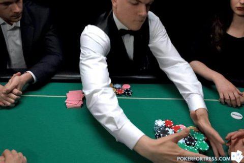 casino taking poker rake